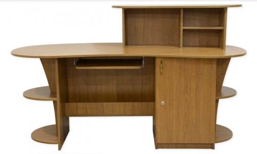 Стол офисный с надстройкой фото 1